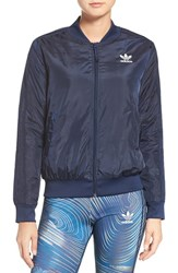 Adidas Women's Originals 'Bg' 3 Stripes Bomber Jacket