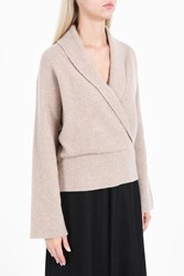 The Row Fontaine Top Beige