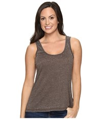 Rock And Roll Cowgirl Hi Lo Tank Top 49 8777 Chocolate Women's Sleeveless Brown