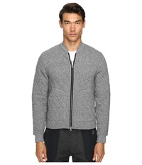Todd Snyder Champion Quilted Bomber Jacket Salt Pepper Men's Coat Gray