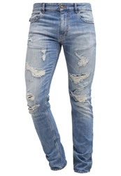 Love Moschino Slim Fit Jeans Lightblue Denim Light Blue