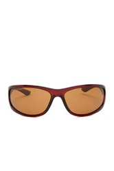 Tommy Bahama Men's Injected Frame Sunglasses Brown