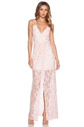 Bcbgeneration Knit Evening Dress Pink