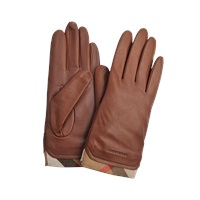 Burberry Jenny Touch Leather Gloves