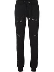Philipp Plein 'Kitty' Track Pants Black
