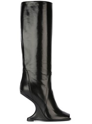 Rick Owens Cantilevered Boots Black