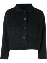 Levi's Made And Crafted 'Ike' Cropped Jacket Blue