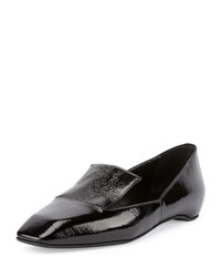 Pierre Hardy Polly Square Toe Patent Loafer Black Men's Size 42.5B 12.5B