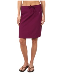 Mountain Hardwear Yuma Trekkin Skirt Dark Raspberry Women's Skirt Red