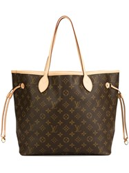 Louis Vuitton Vintage 'Neverfull' Monogram Tote Brown