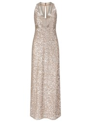 Phase Eight Collection 8 Serina Sequin Dress Champagne