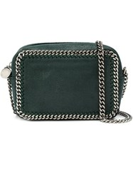 Stella Mccartney 'Falabella' Top Zip Crossbody Bag Green