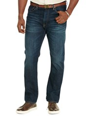 Polo Big And Tall Hampton Straight Fit Stretch Jean Blue