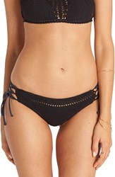 Billabong Women's 'Hippie Hooray Hawaii' Crochet Bikini Bottoms