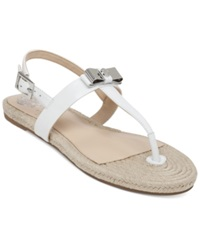 Vince Camuto Arabell Espadrille Flat Thong Sandals Women's Shoes Glaze