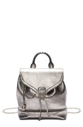 Alexander Mcqueen 'Skull' Leather Backpack