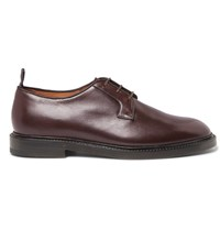 Helbers Leather Derby Shoes Brown