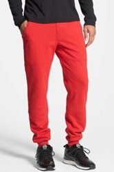 Publish Brand 'Patton' Slim Fit Brushed Jogger Pants Red