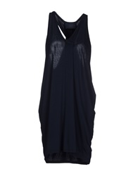 Kai Aakmann Short Dresses Dark Blue