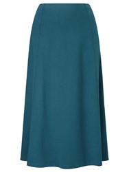 Eastex Midnight Teal Jersey Skirt Turquoise