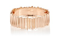 Monique Pean Women's Norske Hinged Bangle Pink