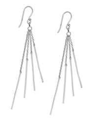 Studio Silver Sterling Silver Earrings Sparkle Drop Earrings