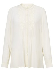 East Embroidered Blouse Ivory