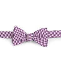 Brooks Brothers Reversible Bow Tie Purple