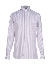Lorenzini Shirts Shirts Men White