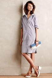 Anthropologie Enso Shirtdress Blue