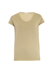 Tomas Maier Scoop Neck Cotton T Shirt