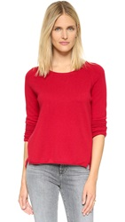 Velvet Classic Cashmere Sweater Flame
