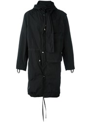 Craig Green Hooded Parka Black