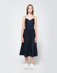 Objects Without Meaning Flare Dress Navy