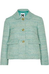 M Missoni Tweed Jacket Green