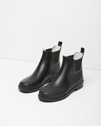 Mhl By Margaret Howell Wellie Ankle Boot Black