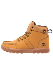 Dc Shoes Woodland Winter Boots Wheat Turkish Coffee Tan