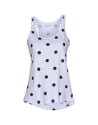 Ltb Topwear Vests Women White