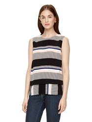 Kate Spade Bay Stripe Double Layer Tank