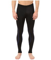 Cw X Insulator Traxter Tights Black Blue Men's Workout