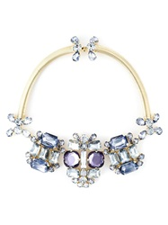 Dsquared2 Embellished Necklace Metallic