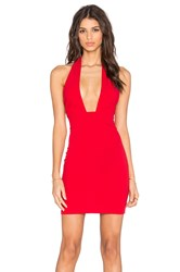 Toby Heart Ginger X Love Indie Doll Cross Front Mini Dress Red