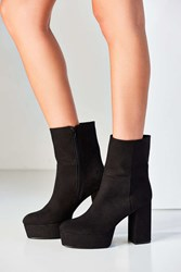 Urban Outfitters Michelle Platform Boot Black
