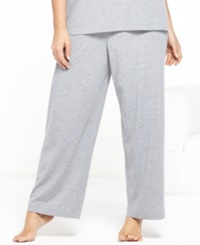 Nautica Plus Size Capri Pants Grey