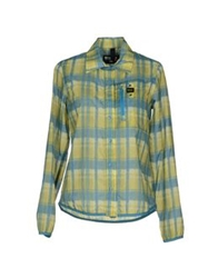 Blauer Shirts Acid Green