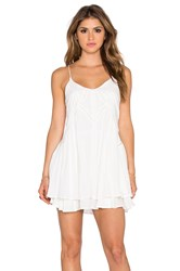 Wilde Heart Lucky Star Shift Dress White