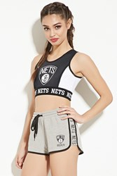 Forever 21 Brooklyn Nets Graphic Shorts