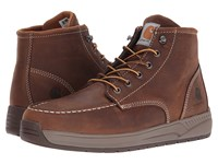 Carhartt 4 Lightweight Wedge Boot Brown Oil Tanned Leather Men's Work Boots