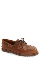 Sperry Men's 'Authentic Original' Boat Shoe Tan Leather
