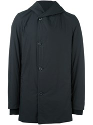 Stephan Schneider Asymmetric Hooded Coat Black